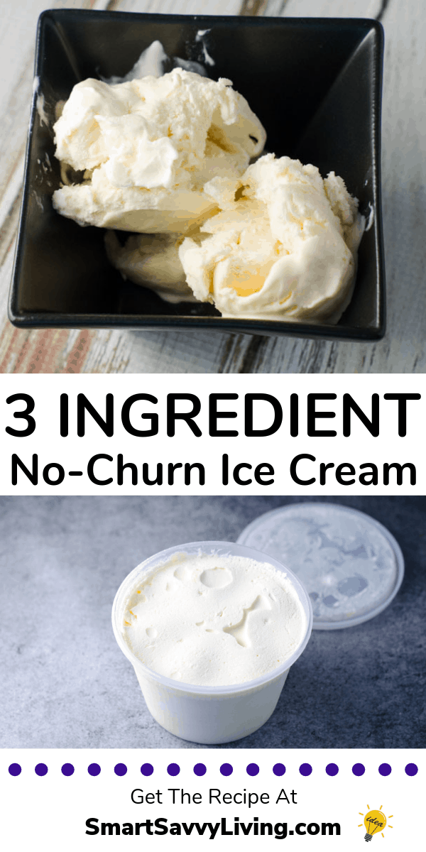 3 ingredient ice cream pinterest photo