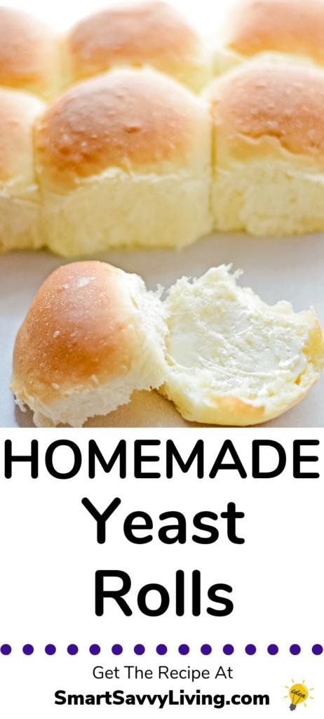 Homemade Yeast Rolls Recipe