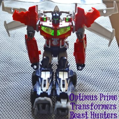 Optimus Prime Transformers Beast Hunters Review