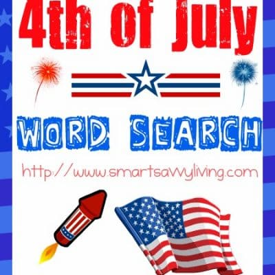 Free Printable 4th of July Word Search
