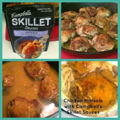 Campbell's Skillet Sauces Review – Quick Chicken Marsala