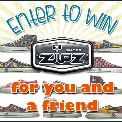 Zipz Shoes Giveaway – Ends 6/21/13 (US)
