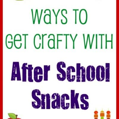 "5 Ways to Get ""Krafty"" with After School Snacks"