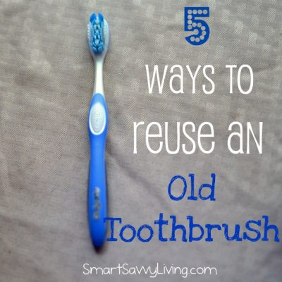5 Ways to Reuse an Old Toothbrush After the Sonicare Powerup