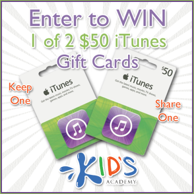 $100 iTunes Gift Card Giveaway – Ends 8/16/13