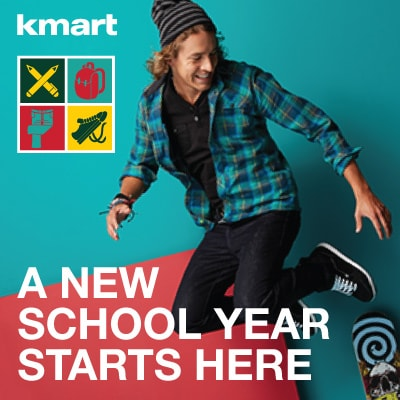 Stay Smart with Back to Campus Savings at Kmart