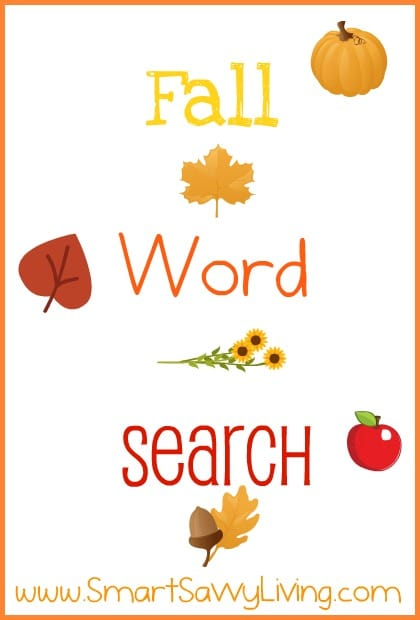 picture about Fall Word Search Printable called Absolutely free Printable Drop Phrase Look