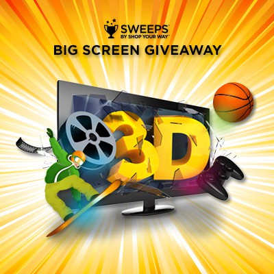 Shop Your Way HDTV Sweepstakes – Ends 2/28/14