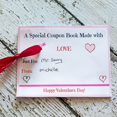 Free Printable Valentine's Day Coupon Book