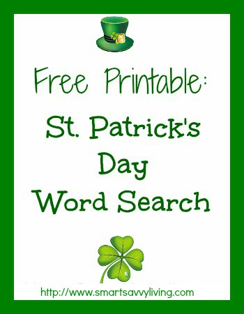 image regarding St Patrick's Day Word Search Printable named Totally free Printable St. Patricks Working day Phrase Glimpse