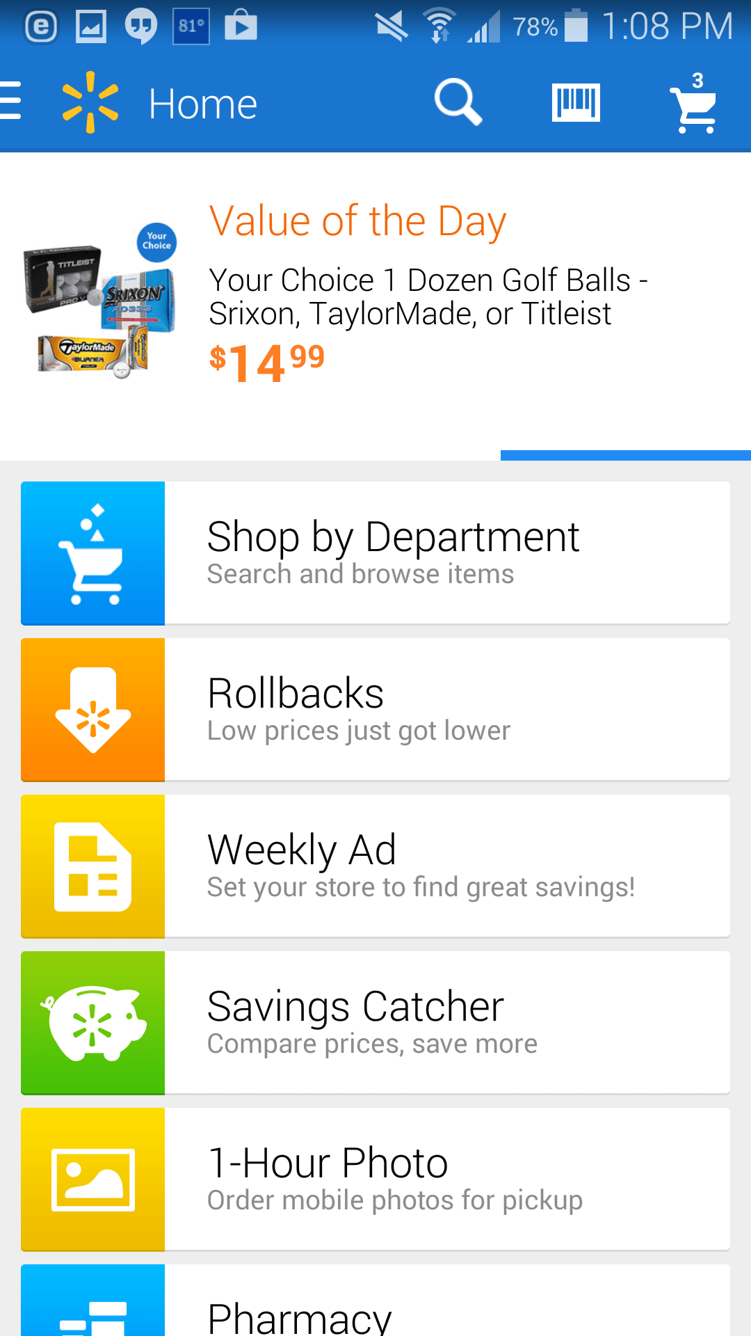 Easy Online Shopping with Walmart com and App + $25 Walmart