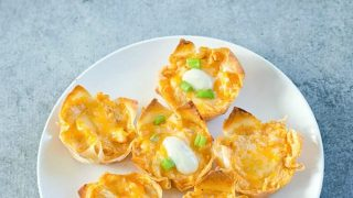 Spicy Buffalo Chicken Cups Recipe