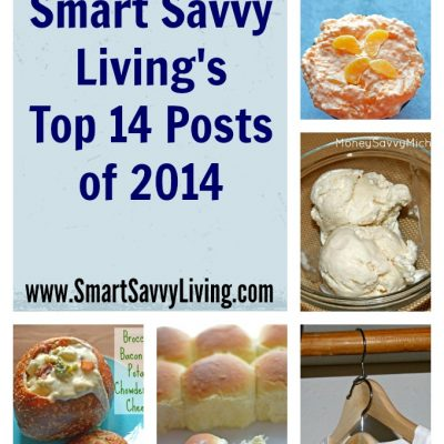 Smart Savvy Living's Top 14 Posts of 2014