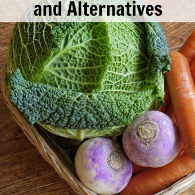 10 Healthy Food Choices and Alternatives