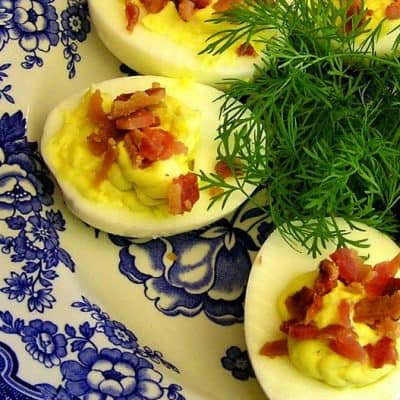 50 Mix-Ins and Toppings for Deviled Eggs