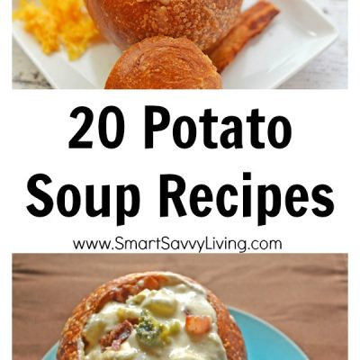 20 Potato Soup Recipes