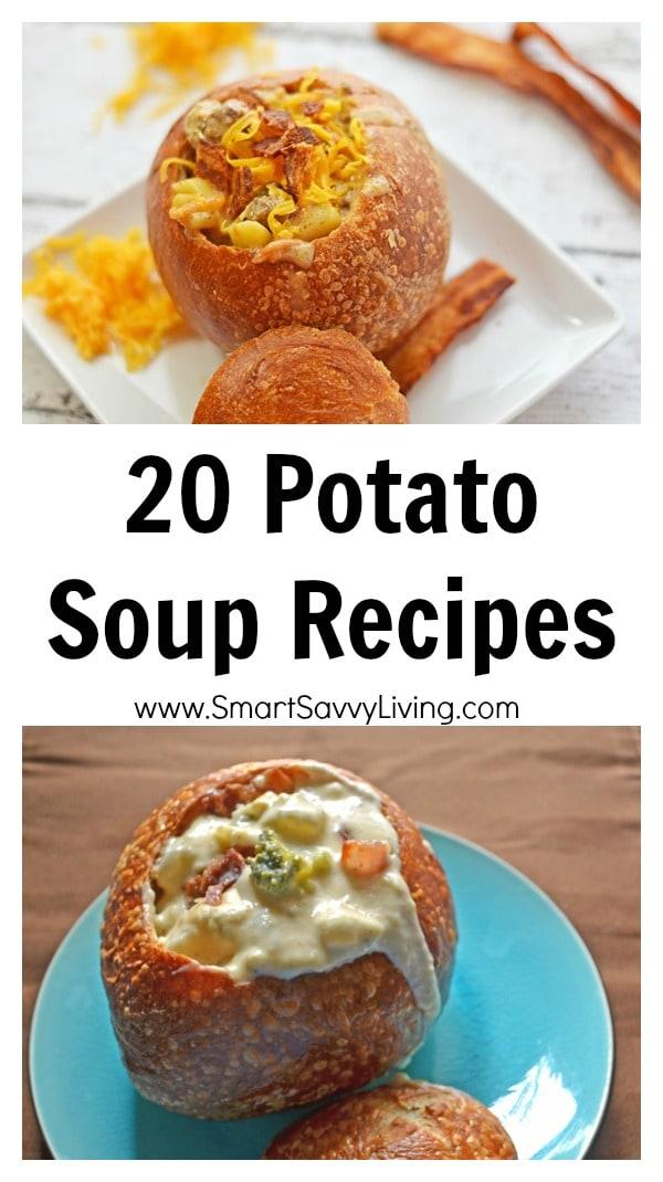 20 Potato Soup Recipes