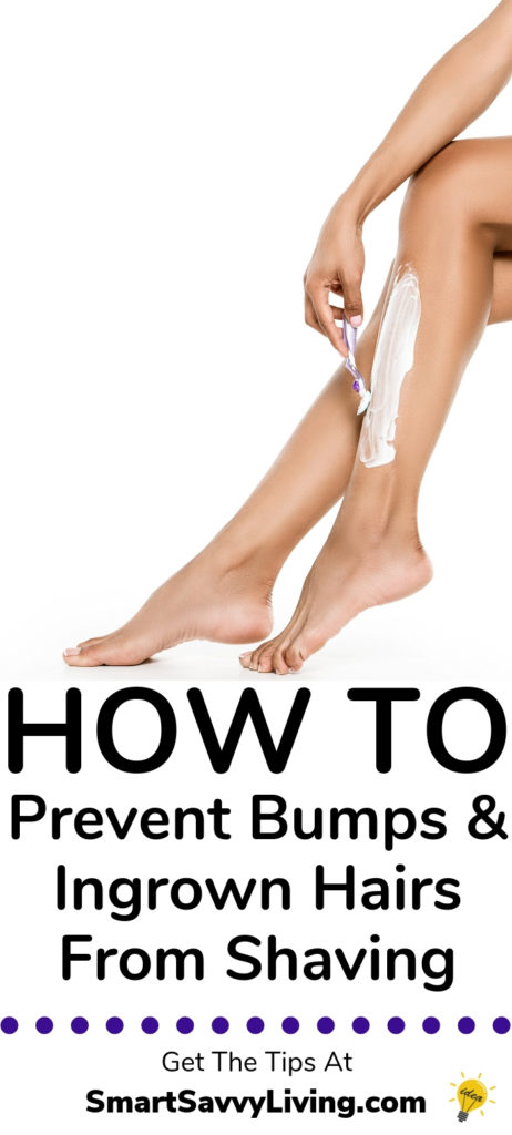 How to Prevent Bumps and Ingrown Hairs from Shaving