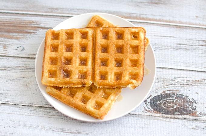 Overnight Yeasted Waffles Recipe