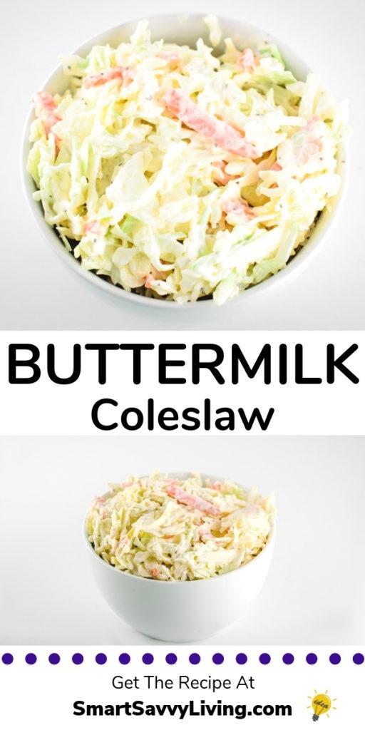 Buttermilk Coleslaw Recipe