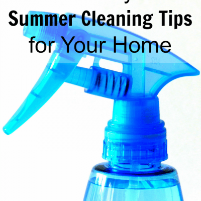 5 Easy Summer Cleaning Tips for Your Home