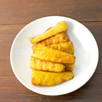 The Best Grilled Pineapple