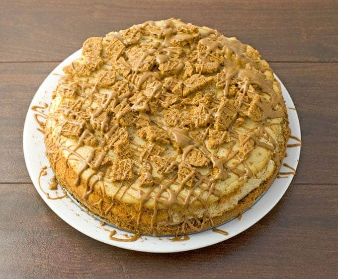 Cookie Butter Cheesecake Recipe 1