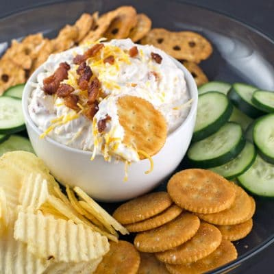 Creamy Cheesy Bacon Ranch Dip Recipe