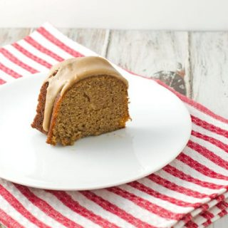 Spice Bundt Cake With Salted Caramel Glaze Recipe
