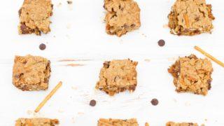 Oatmeal Chocolate Chip Pretzel Bars Recipe