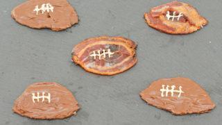 Candied Bacon Footballs Recipe