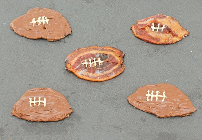 Candied Bacon Footballs Recipe 1