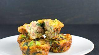 Sausage And Kale Mini Frittatas Recipe