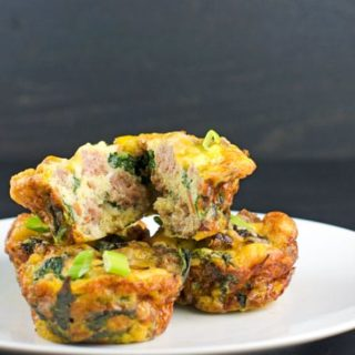 Sausage and Kale Mini Frittatas Recipe
