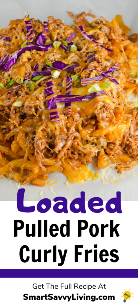 Loaded Pulled Pork Curly Fries Recipe