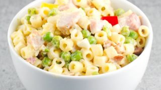 Pasta Salad With Peas And Ham Recipe