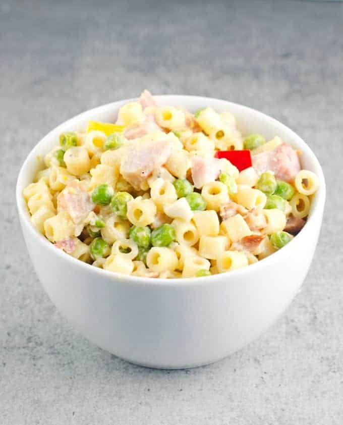 Pasta Salad With Peas And Ham Recipe 8