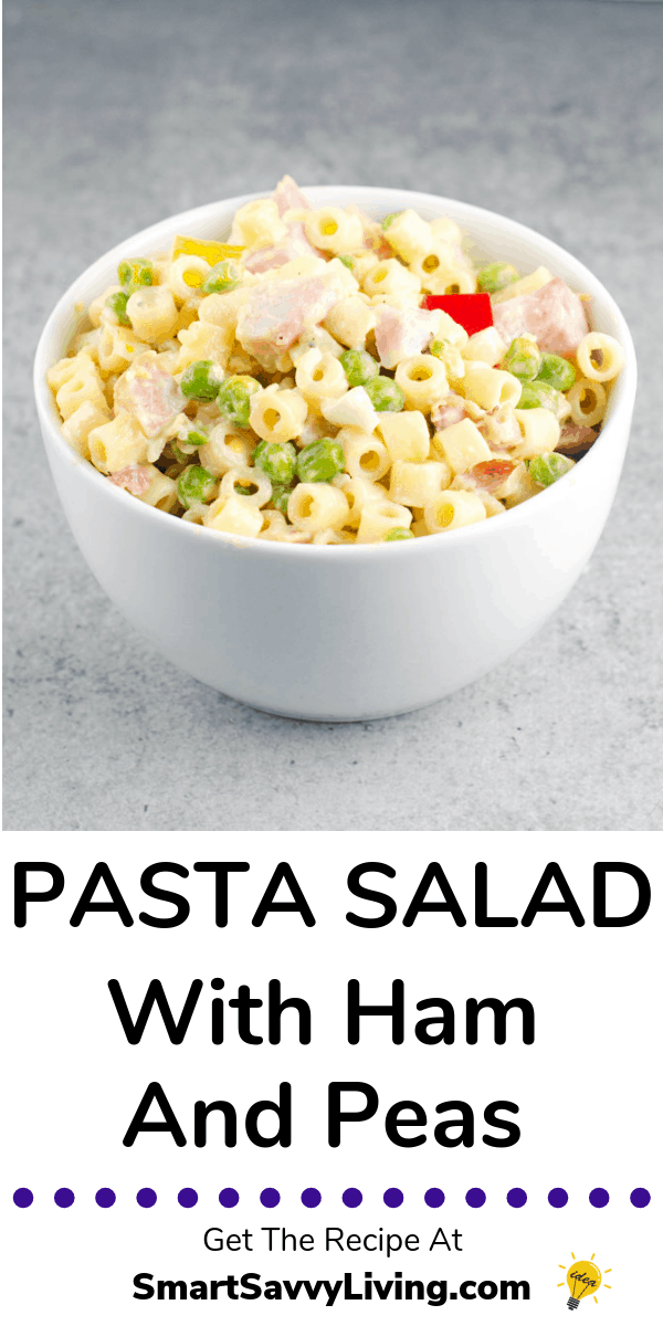 Pasta Salad With Peas And Ham Recipe 7