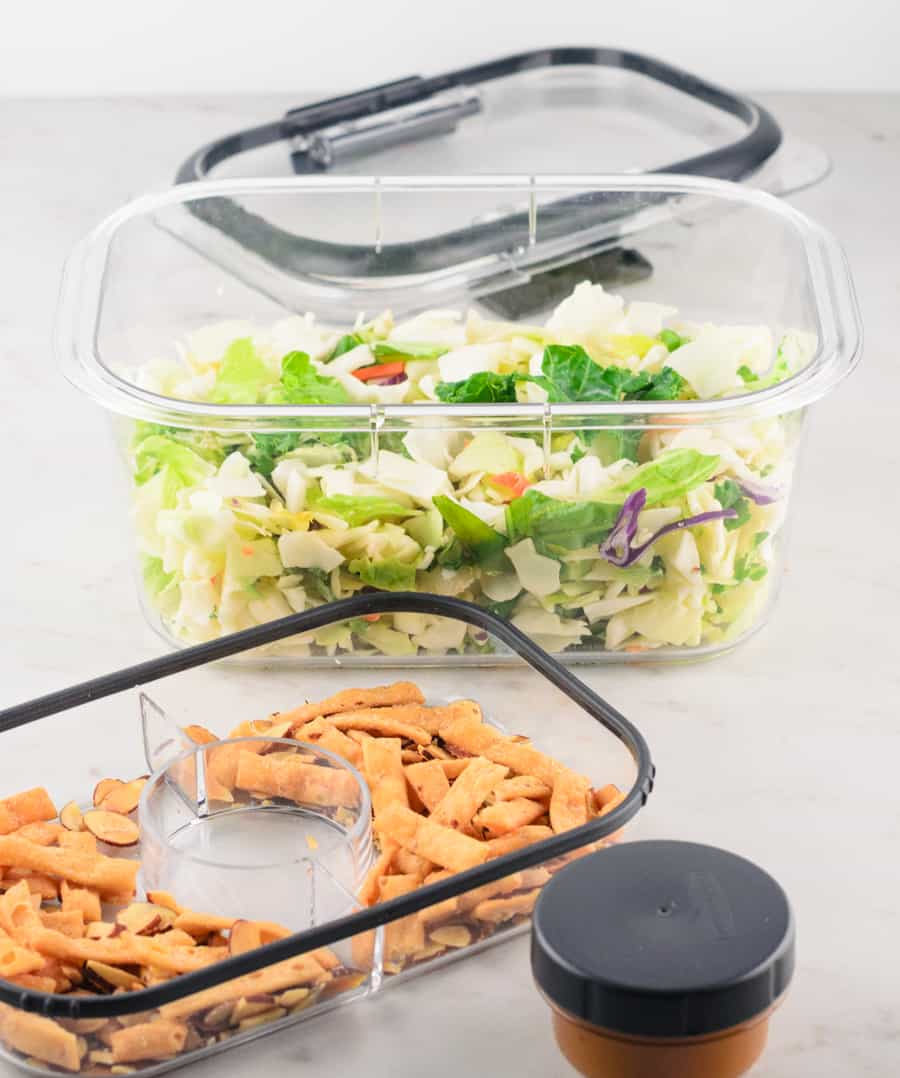 Rubbermaid BRILLIANCE Salad & Snack Set Review 6