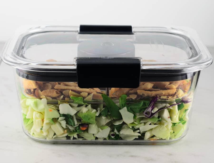 Rubbermaid BRILLIANCE Salad & Snack Set Review 4