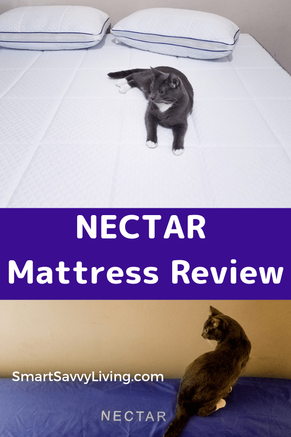 NECTAR Mattress Review - Looking for a new mattress and wondering if the NECTAR memory foam mattress would be a good choice for you? Read our review to find out!  #mattress #sleep #reviews #product