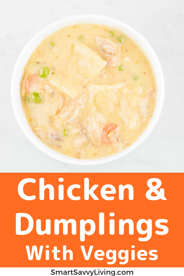 Chicken And Dumplings Recipe With Vegetables 2
