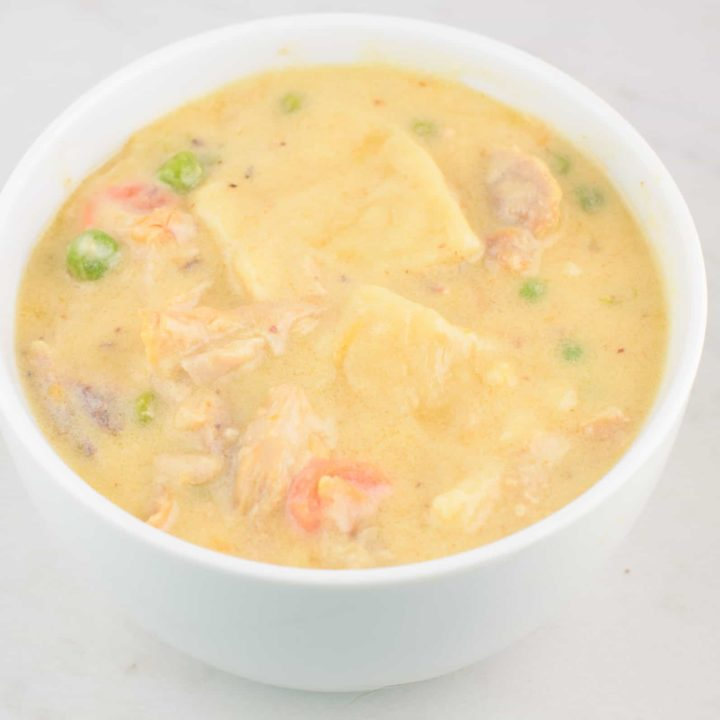 Chicken and Dumplings Recipe With Vegetables