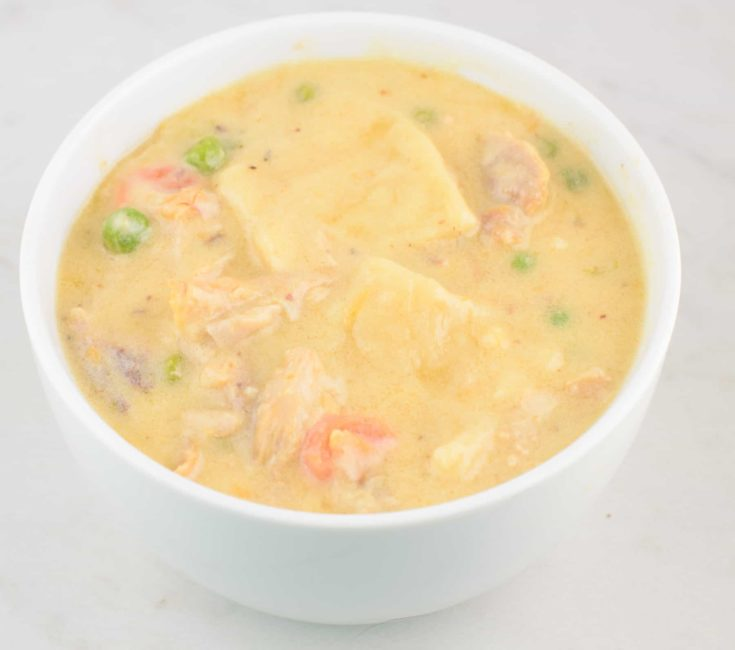 Chicken And Dumplings Recipe With Vegetables 3
