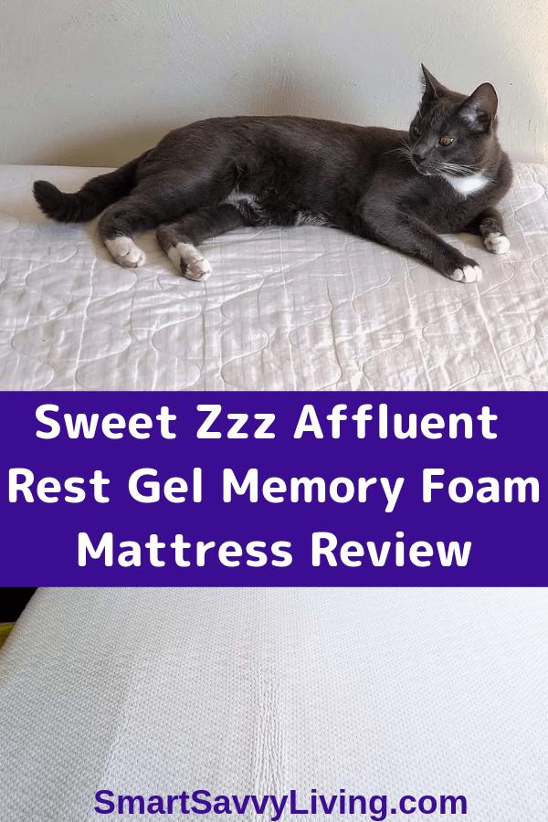 Sweet Zzz Affluent Rest Gel Memory Foam Mattress Review 3
