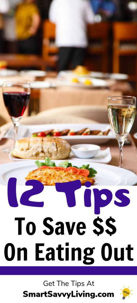 12 Tips For How To Save Money On Eating Out