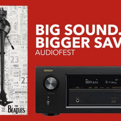 Get Big Savings On Big Sound During AudioFest At Best Buy