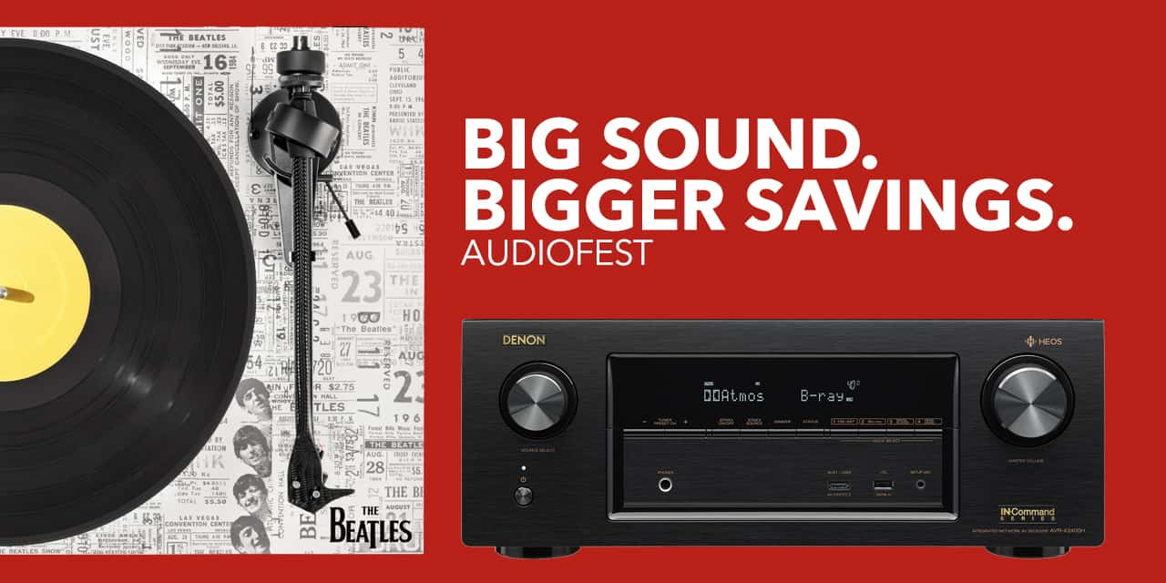 Get Big Savings On Big Sound During AudioFest At Best Buy 1