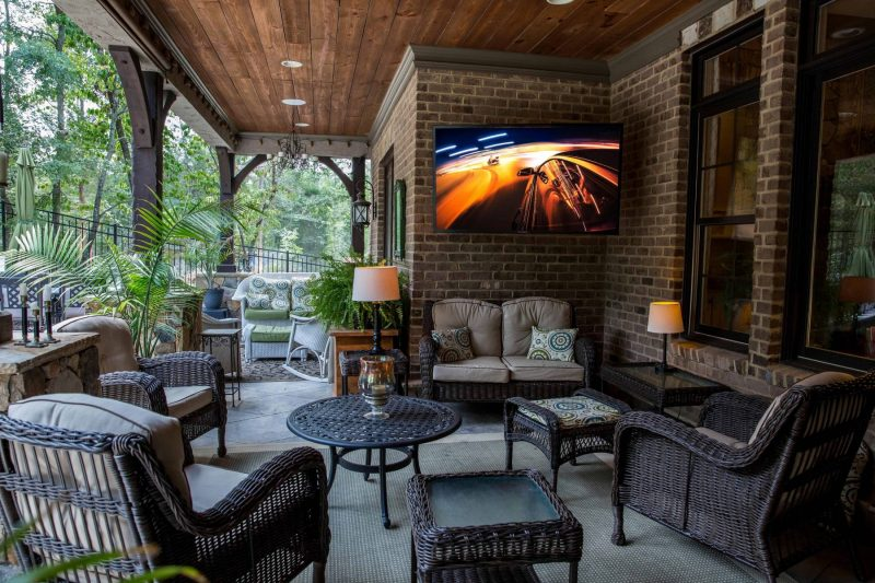 Complete Your Outdoor Space With A Weatherproof Television 2