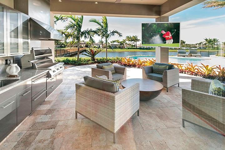 Complete Your Outdoor Space With A Weatherproof Television 1